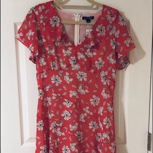 NWT Coral Floral Dress